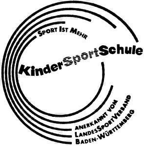 Anerkennung Landessportverband BW